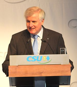 English: Horst Seehofer Deutsch: Horst Seehofer