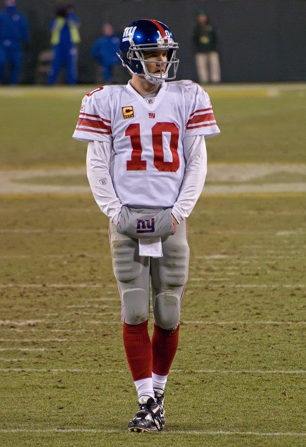 2012 Packers vs Giants - Eli Manning