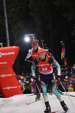 2014-04-01 Biathlon World Cup Oberhof - Mens Pursuit - 45 - Dmytro Pidruchnyi.JPG