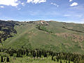 2014-06-24 12 48 13 View west towards the Copper Mountains from Elko County Route 748 (Charleston-Jarbidge Road) between Coon Creek Summit and Bear Creek Summit.JPG