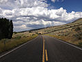 2014-08-19 14 21 34 View north along Nevada State Route 225 (Mountain City Highway) about 95.1 miles north of Nevada State Route 535 (Idaho Street) in Owyhee, Nevada.JPG