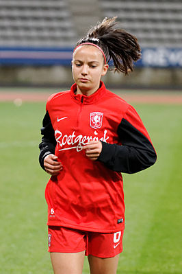 Marthe Munsterman, PSG-Twente, UEFA Women's Champions League 2014-2015