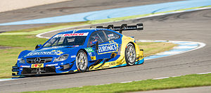 Gary Paffett - Paffett competing in the 2014 DTM season.