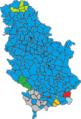 2014 Serbian Parliamentary Elections Majority Map.png