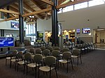 2015-05-05 10 55 17 Passenger waiting area within the terminal at the Elko Regional Airport in Elko, Nevada.jpg