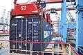 2015-06-27 Containerverladung im Waltershofer Hafen am Burchardkai 02.jpg