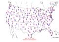 2015-10-31 Max-min Temperature Map NOAA.png