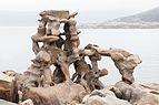 2016 Escultura de Man. Manfred Gnädinger. Camelle. Galiza.jpg