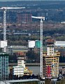 2016 London, Shooter's Hill view of Waterfront development 2.jpg