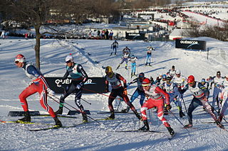 FIS Cross-Country World Cup international cross-country skiing competition during northern winter