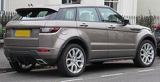 Range Rover Evoque - Range Rover Evoque HSE (Facelift)