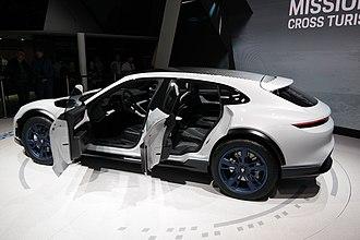 Porsche Mission E - Image: 2018 03 06 Geneva Motor Show 2277