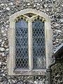 2018-06-13 Window, Parish church of Saint John the Baptist's head, Trimingham (2).JPG