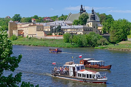 Convent of Norbertine Sisters in Krakow-Zwierzyniec and the Vistula River during the summer season 20180506 Kosciol sw. Augustyna i sw. Jana Chrzciciela w Krakowie 2989 DxO.jpg