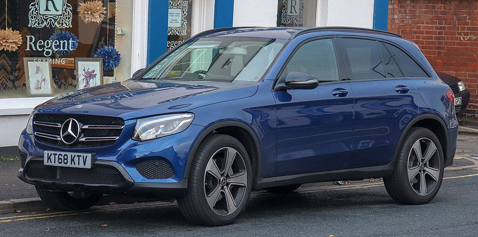2018 Mercedes-Benz GLC 250 Urban Edition 4MATIC 2.0 Front