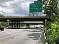 2019-05-27 13 12 24 View south along the inner loop of the Capital Beltway (Interstate 95 and Interstate 495) at Exit 22A (Baltimore-Washington Parkway North, Baltimore) in Greenbelt, Prince George's County, Maryland.jpg