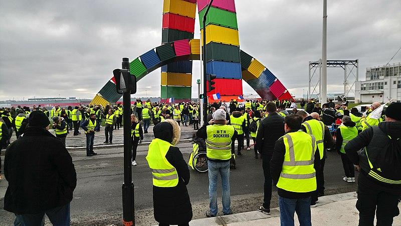 File:2019 gilets jaunes au Havre.jpg