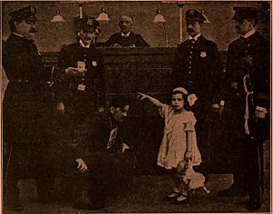 A 29-Cent Robbery - A film still from the work