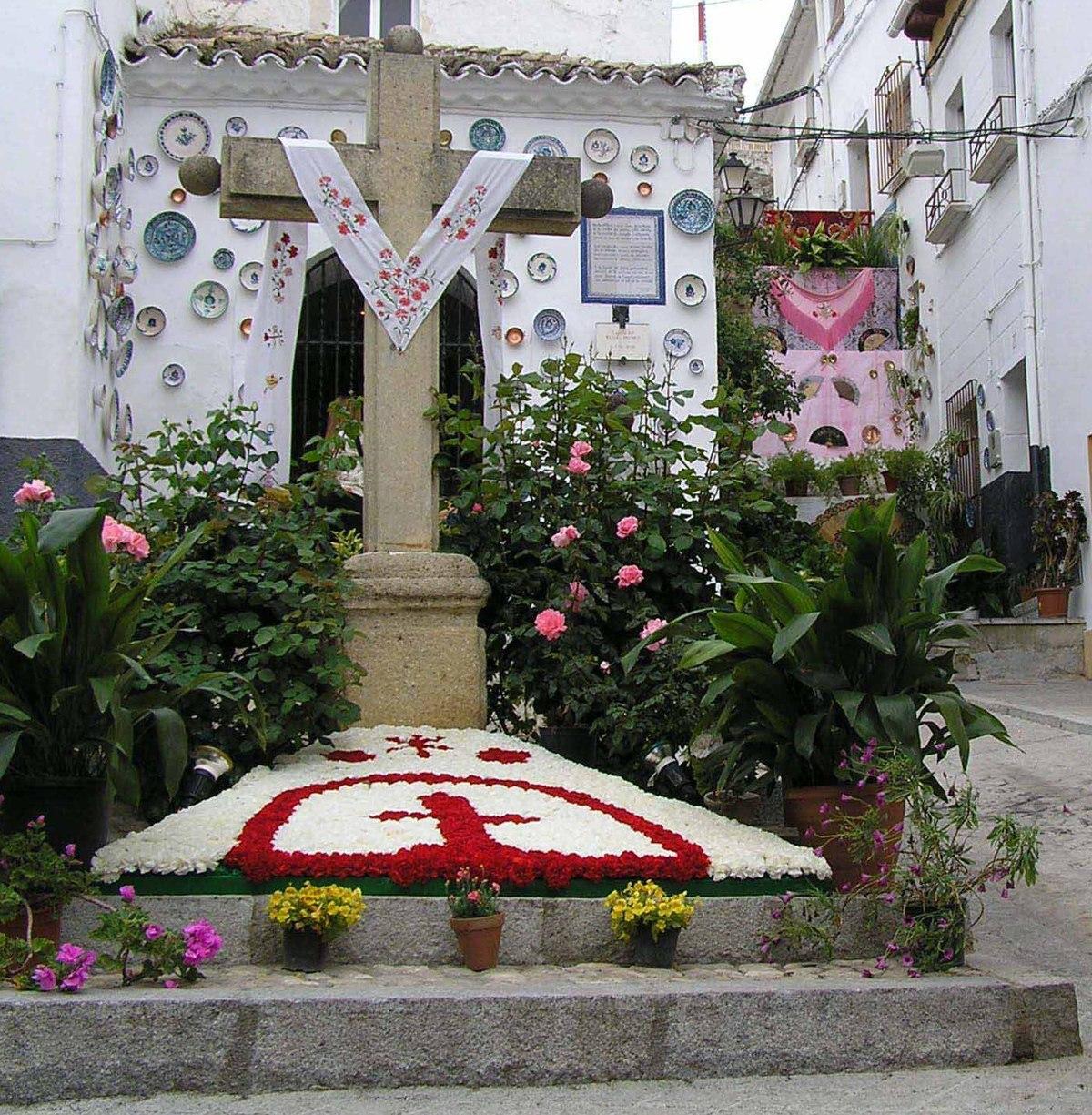 Fiesta de las cruces wikipedia for Decoracion 10 de mayo