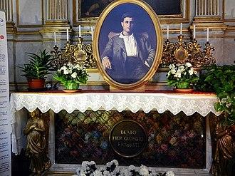 Pier Giorgio Frassati - Frassati's tomb in the Turin Cathedral.