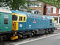 33103 'Swordfish' stabled at Swanage Station - geograph.org.uk - 1626524.jpg