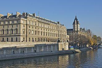 Direction Régionale de Police Judiciaire de Paris - The 36, quai des Orfèvres, headquarters of the Paris criminal police