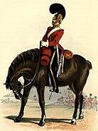 3rd Dragoon Guards uniform
