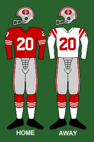 1962 San Francisco 49ers season - Image: 49ers 62 63
