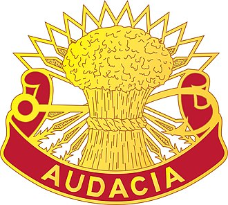 4th Air Defense Artillery Regiment - Image: 4 ADA Rgt DUI
