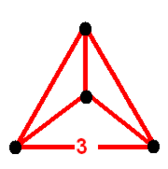 Uniform 4-polytope - Image: 5 cell verf