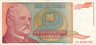 Hyperinflation in Yugoslavia hyperinflation in Yugoslavia between March 1992 and January 1994