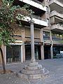 554 Creu de Can Canet, reconstrucció de Ramon Dalmau, c. Creu - Migdia (Girona).jpg