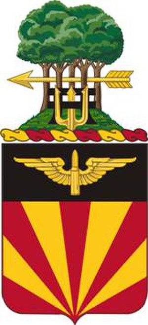 56th Air Defense Artillery Regiment - Coat of arms