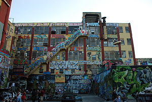 5 Pointz - Rear of 5 Pointz