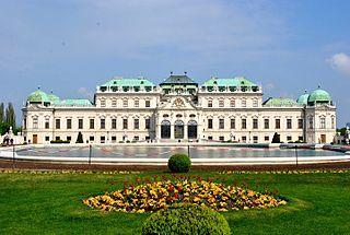 Schloss Belvedere in Wien - Ort der Vertragsunterzeichnung