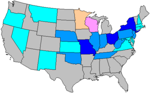 United States House of Representatives elections, 1922 - Image: 68 us house changes