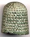 6FE0C2. Copper alloy thimble (FindID 87866).jpg