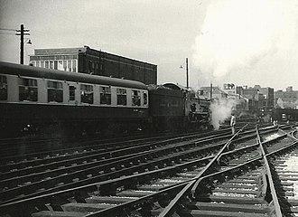 GWR 4073 Class 7029 Clun Castle - Image: 7029 Clun Castle(8258078241)