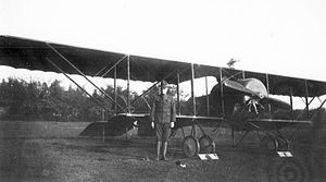 Caudron G.3 - Caudron G.3 operated by the American 800th Aero Squadron as a trainer