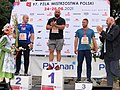 97 PZLA Mistrzostwa Polski Poznań 2021 podium pchnięcie kulą 5598.jpg