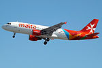 9H-AEP A320 Air Malta (14806272801).jpg