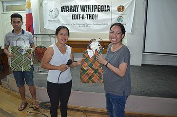 9th Waray Wikipedia Edit-a-thon 39.JPG