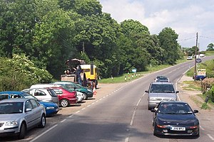 A28 road - The A28 near Rolvenden