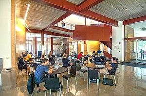 University of Iowa School of Art and Art History - Interior view of University of Iowa Art Building West