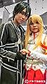AMG14 cosplayers of Kirito and Asuna from Sword Art Online 20140809.jpg