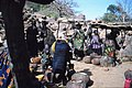 ASC Leiden - W.E.A. van Beek Collection - Dogon markets 22 - The women from each ward have their own spot for selling beer, Tireli, Mali 1980.jpg