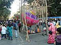 A 'SPINNING TOP' exhibit at Kala Ghoda festival 2020.jpg
