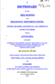 A Dictionary of All Religions and Religious Denominations, Jewish, Heathen ... (1817).png