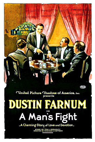 A Man's Fight - Film poster