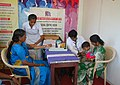 A Medical camp organised as part of Health Day celebration, at the Bharat Nirman Public Information Campaign, at Nagercoil in Kanyakumari District, Tamil Nadu on December 18, 2011.jpg